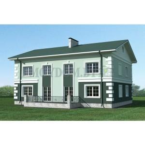 Проект дома 210