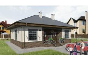 Проект дома 243-D+