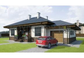Проект дома 243-D1+