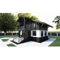 Готовый проект блочного двухэтажного дома с подвалом