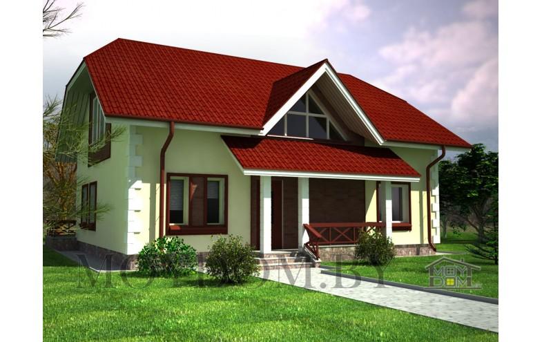 Готовый мансардного дома  до 200 кв.м