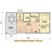 Готовые проекты домов 100 кв.м.