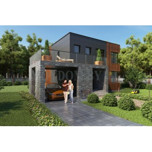 Проект дома 611
