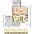 Готовый проект двухэтажного дома