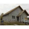 Готовый проект мансардного дома до 130 кв.м с гаражом