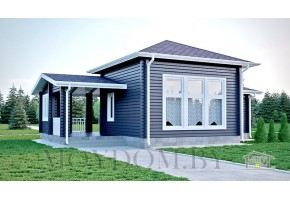 Проект дома-бани 773