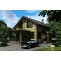 Готовый проект деревянного мансардного дома до 150 кв.м