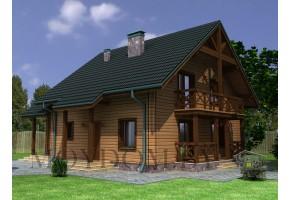 Проект дома 80