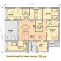 барнхаус проект с 5 спальнями
