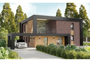 Проект дома 906