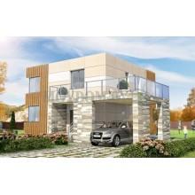 Проекты домов из газобетона: основные характеристики