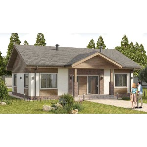 Проект дома 960
