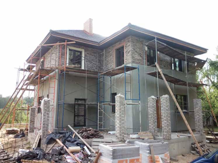 фото строящегося дома 52