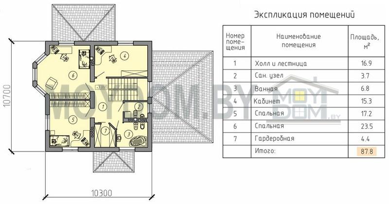 двухэтажный дом фотография планировка второй этаж