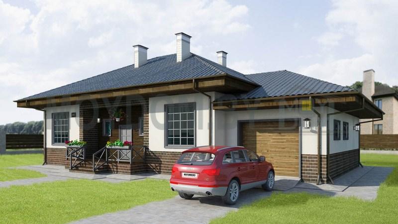 фото проекта одноэтажного дома