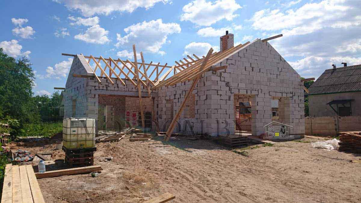 фото готового дома проект 392