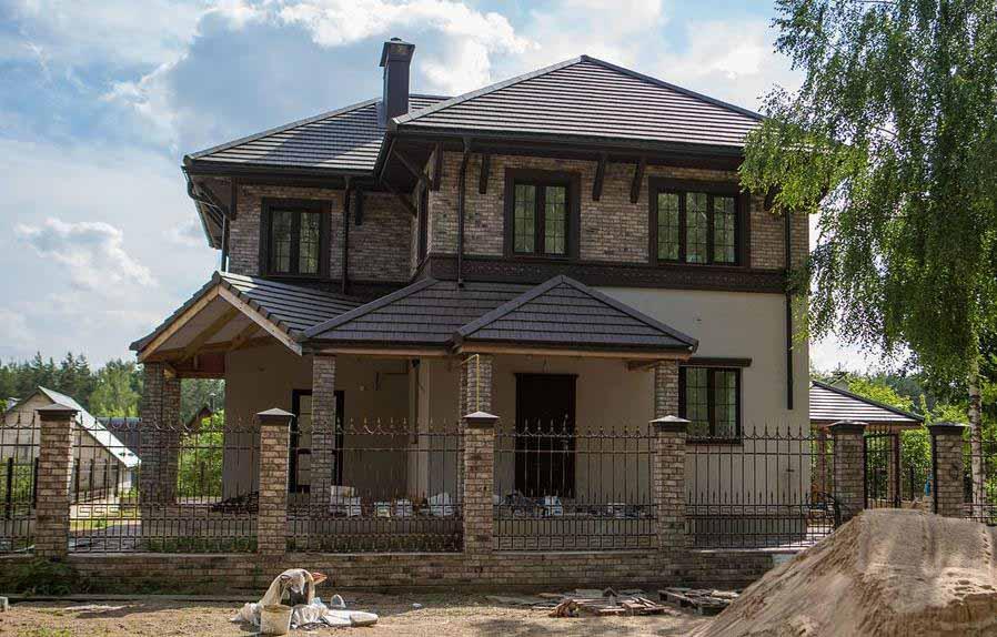 готовый проект дома 52