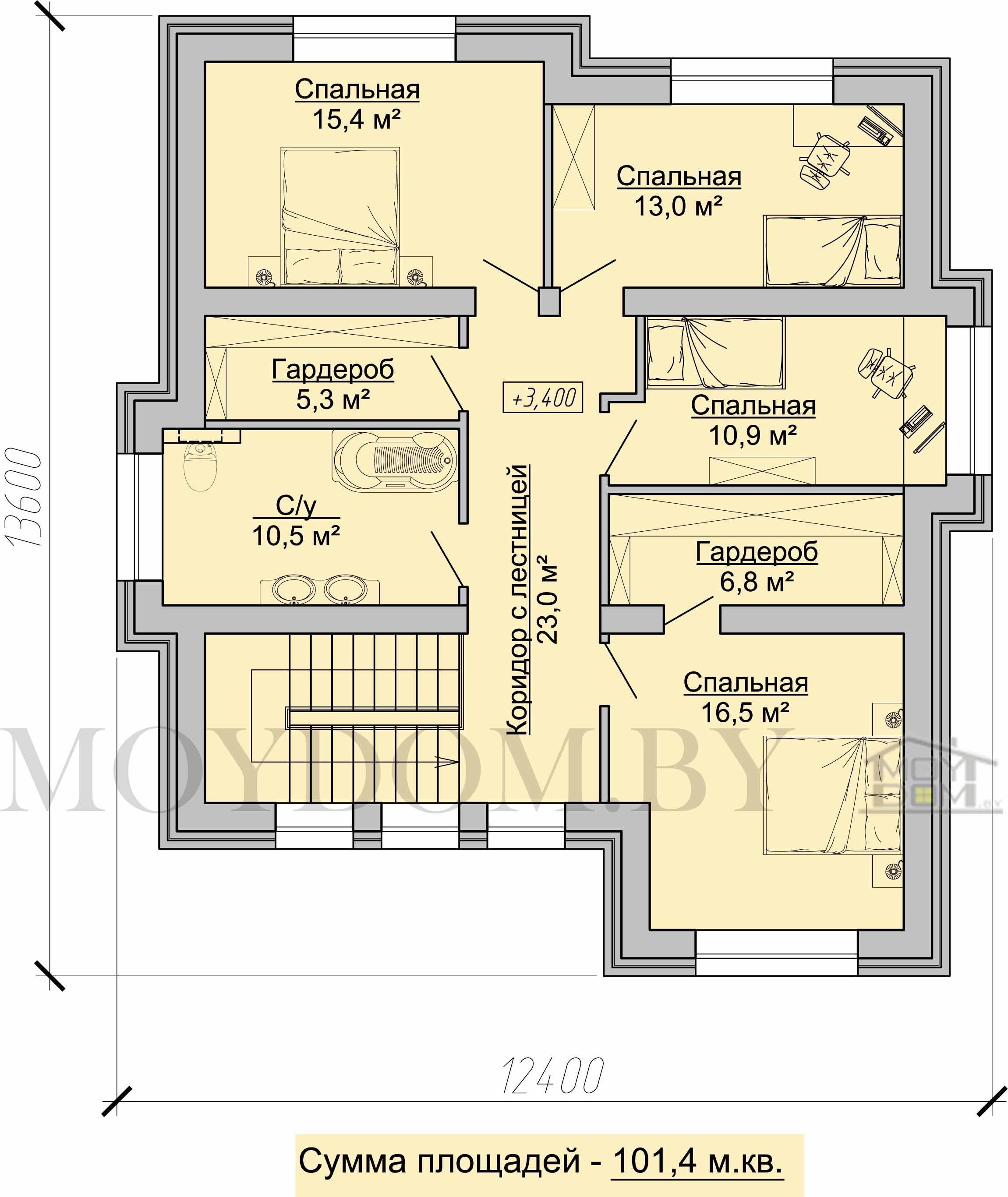 план дома в классическом стиле