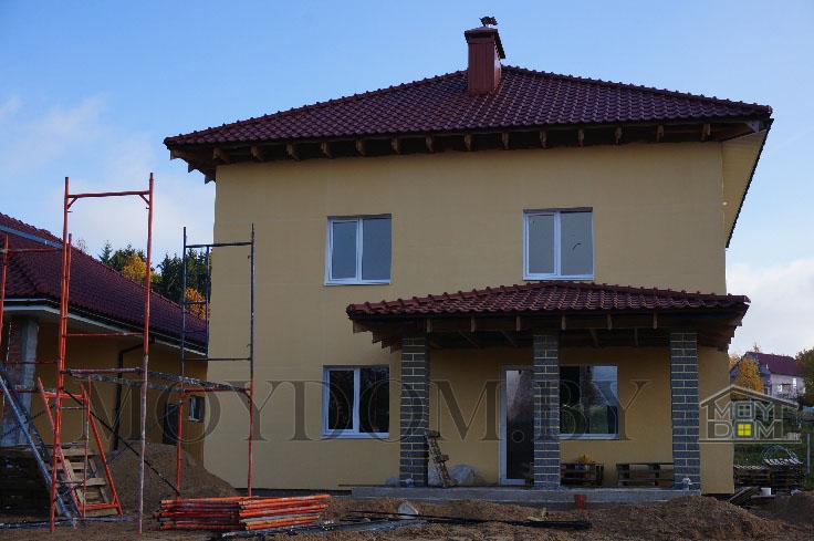 двухэтажный дом фото